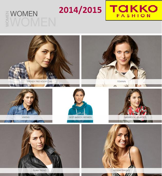 Takko Fashion aktuální leták 2014/2015